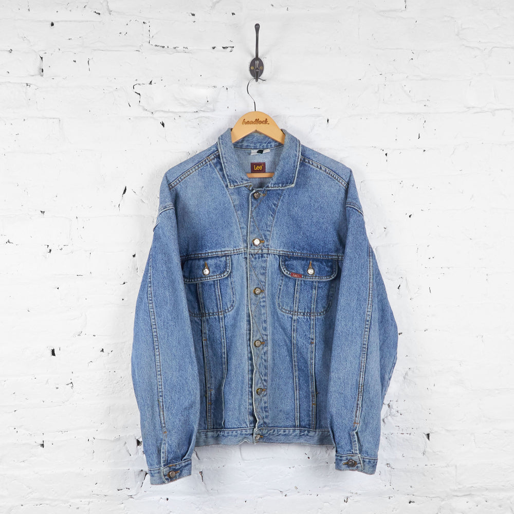 Lee Riders Denim Jacket - Blue - XL - Headlock