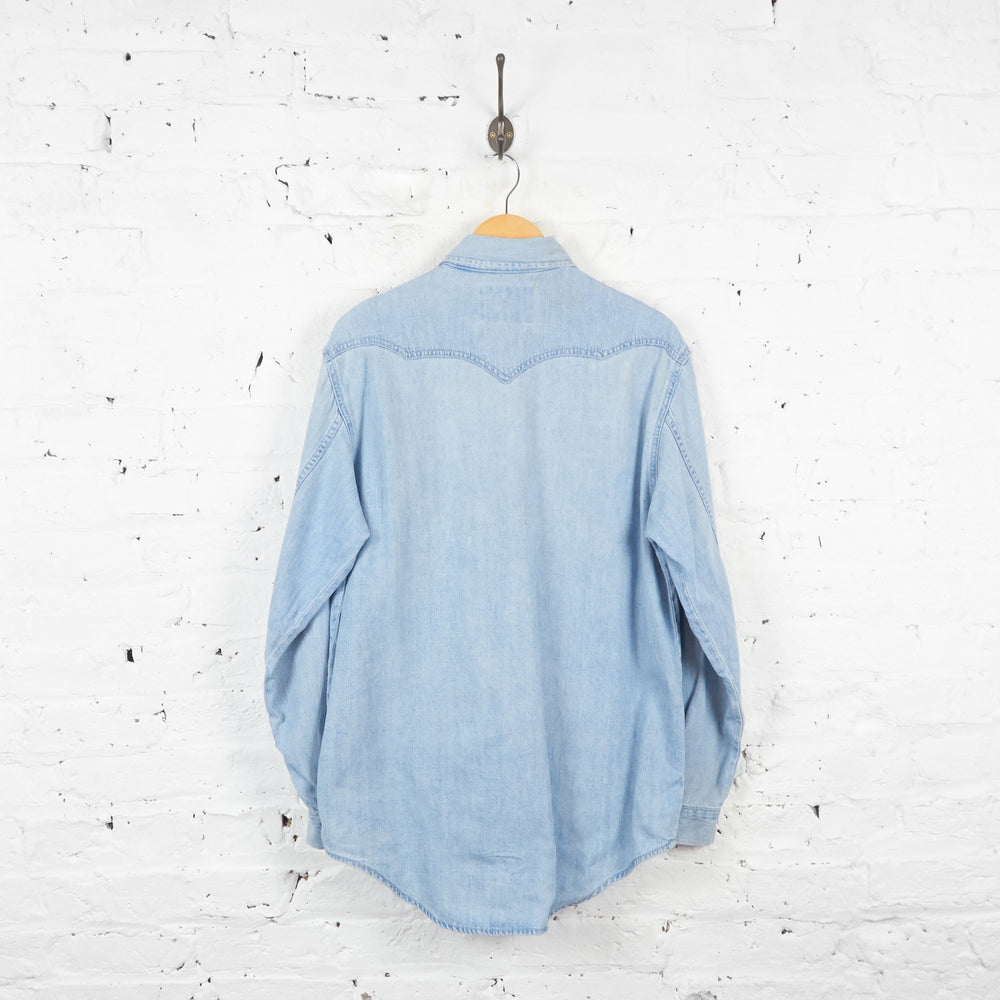 Levis Denim Shirt - Blue - XL - Headlock
