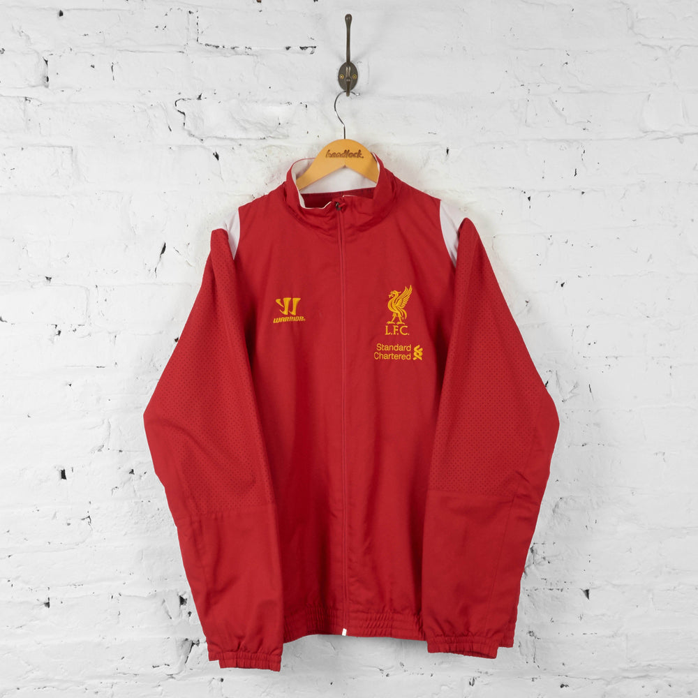 Liverpool Warrior Tracksuit Top Jacket - Red - XXL - Headlock