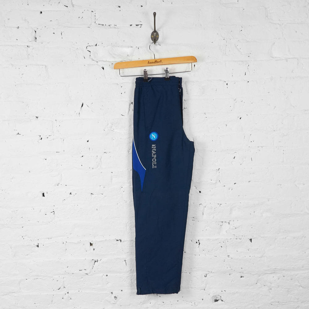 Macron Tracksuit Bottoms - Blue - XS - Headlock