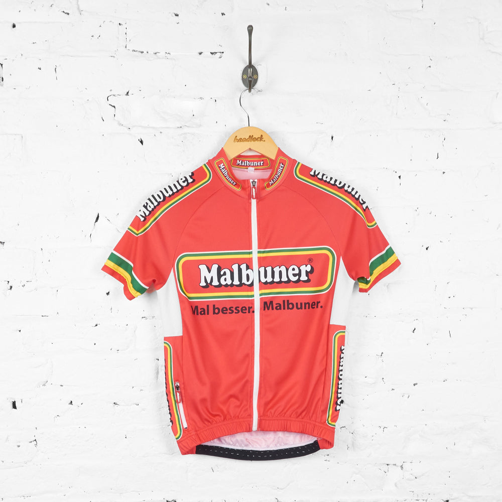 Malbuner Cycling Top Jersey - Red - XS - Headlock