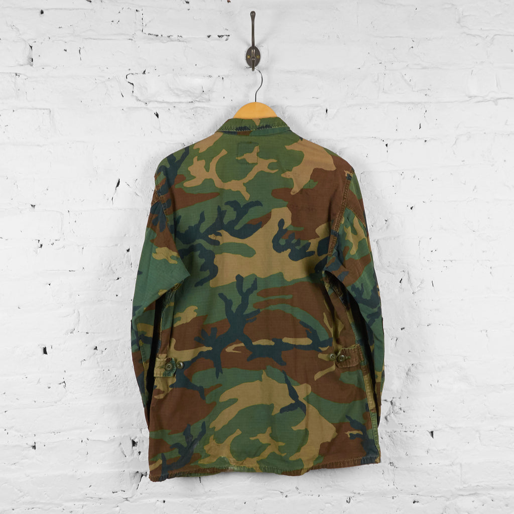 Military Camouflage Over Shirt - Green - L - Headlock