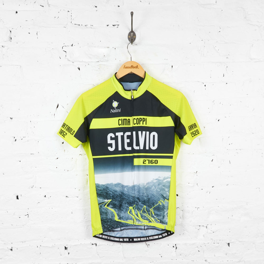 Nalini Cima Coppi Stelvio 2760 Cycling Jersey - Black - L - Headlock
