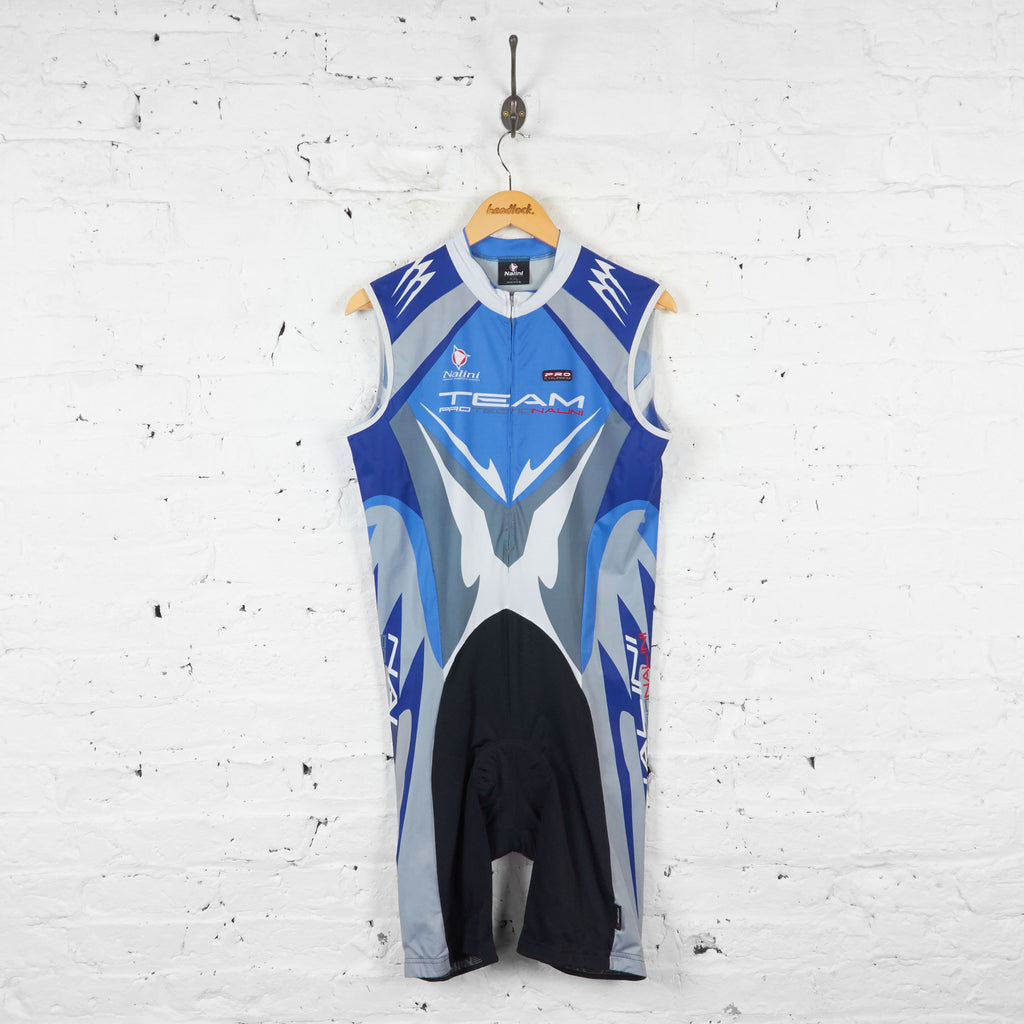 Nalini Pro Team Cycling All in One - Blue - XXL - Headlock