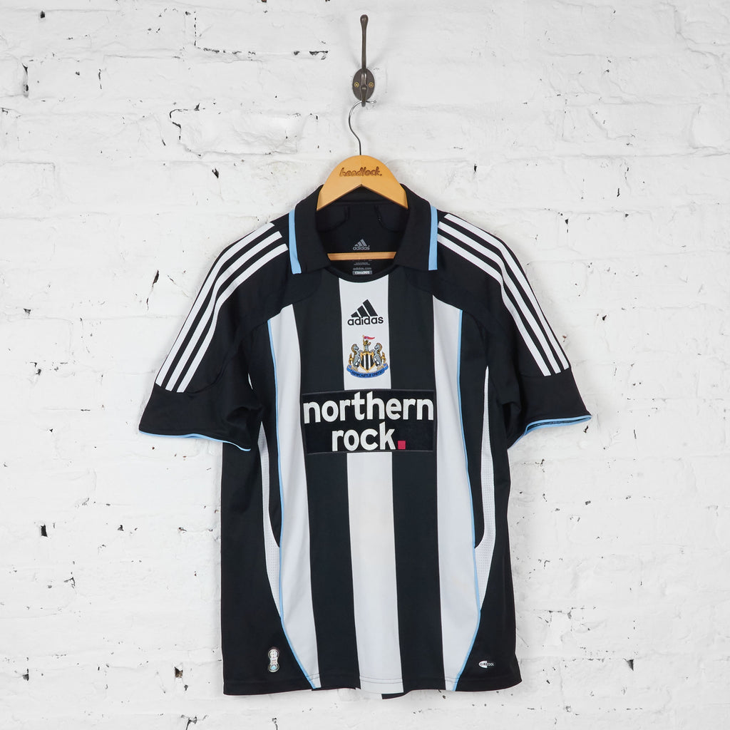 Newcastle United Owen 2007 Home Football Shirt - Black - M - Headlock