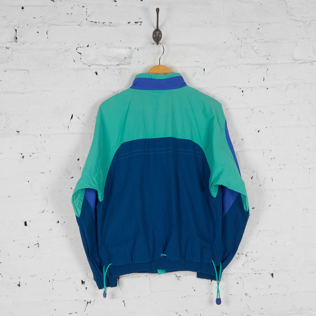 Nike 90s Full Shell Tracksuit - Blue/Green - S - Headlock