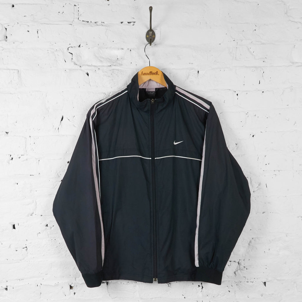 Nike 90s Shell Tracksuit Top Jacket - Black - M - Headlock
