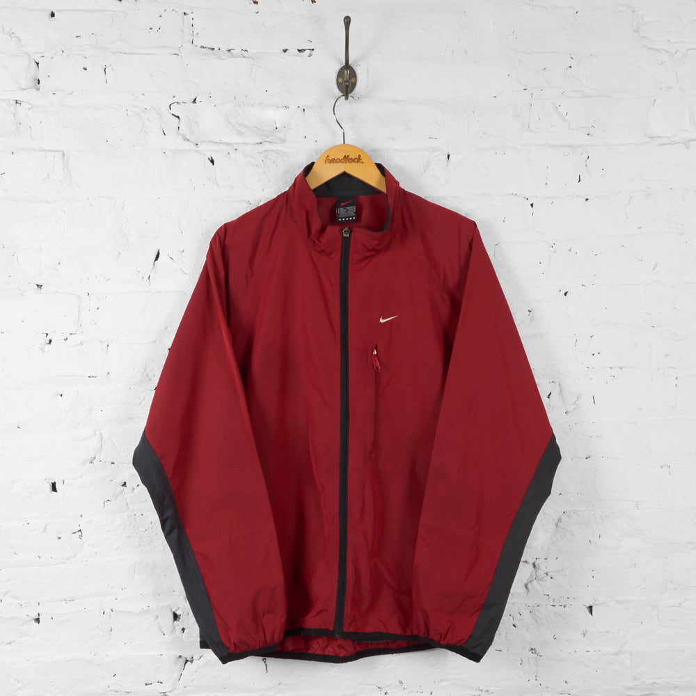 Nike 90s Shell Tracksuit Top Jacket - Red - L - Headlock