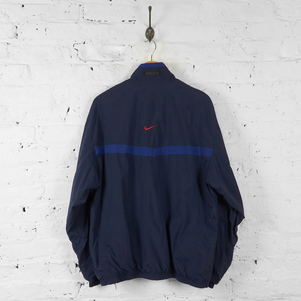 Nike Shell Tracksuit Top Jacket - Blue - L - Headlock