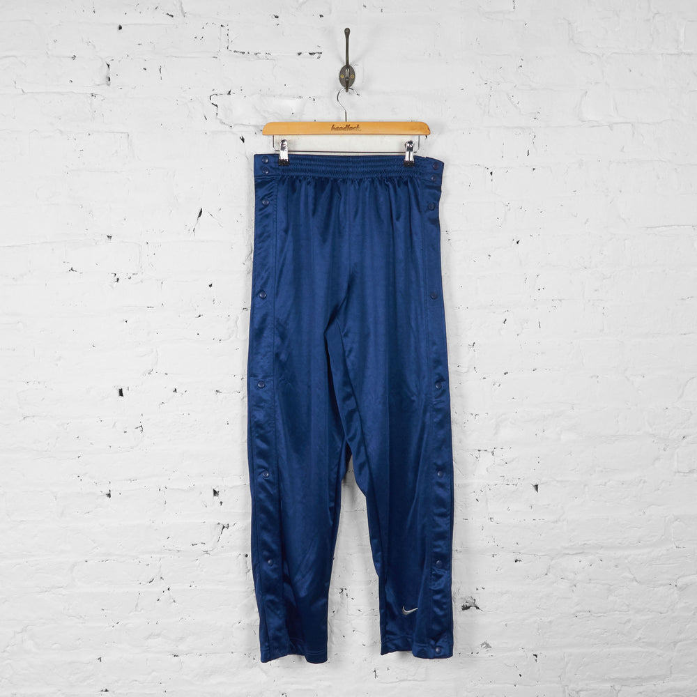 Nike Tracksuit Bottoms - Blue - M - Headlock