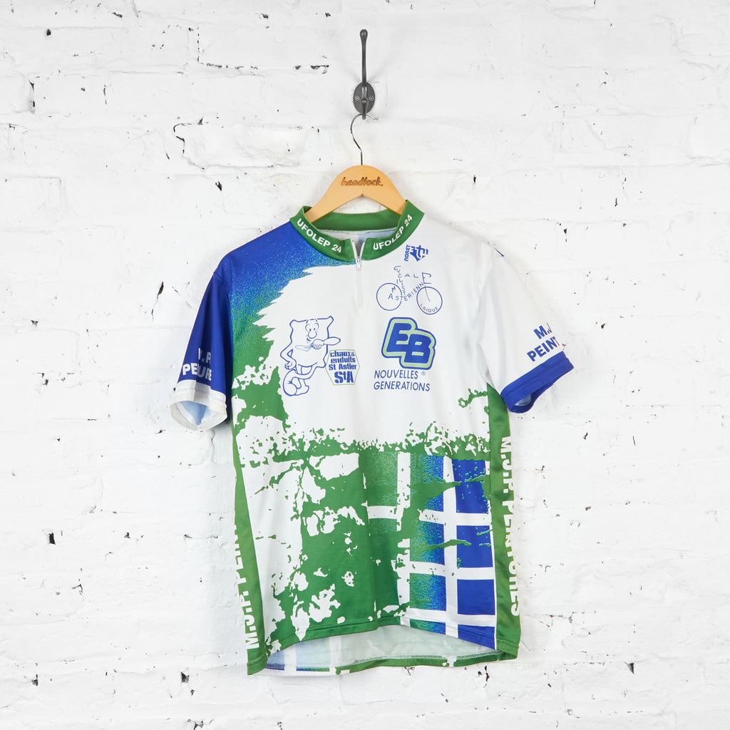 Noret ALC St Astier Cycling Jersey - White - XL - Headlock