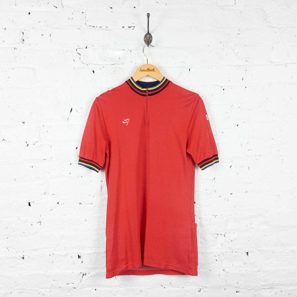 Olympia Cycling Jersey - Red - L - Headlock