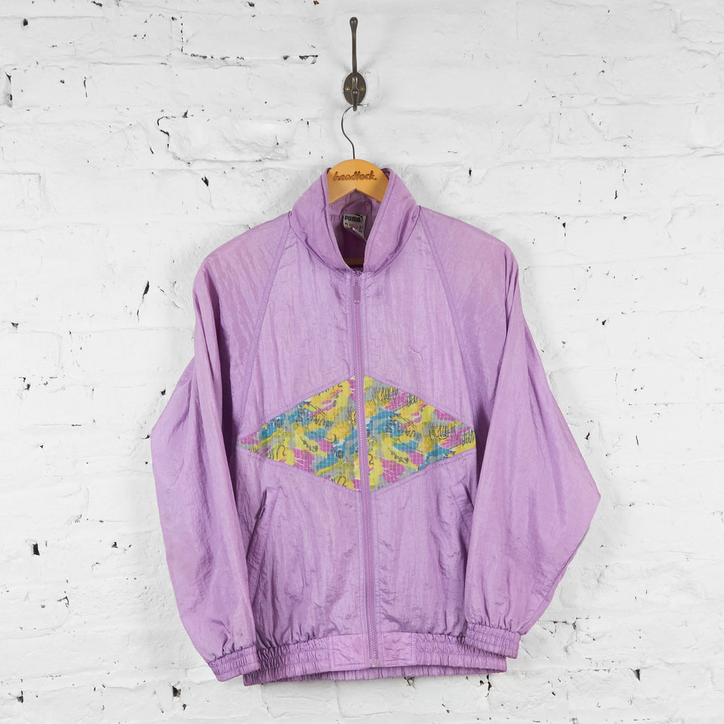 Puma 80s Shell Jacket - Purple - S - Headlock