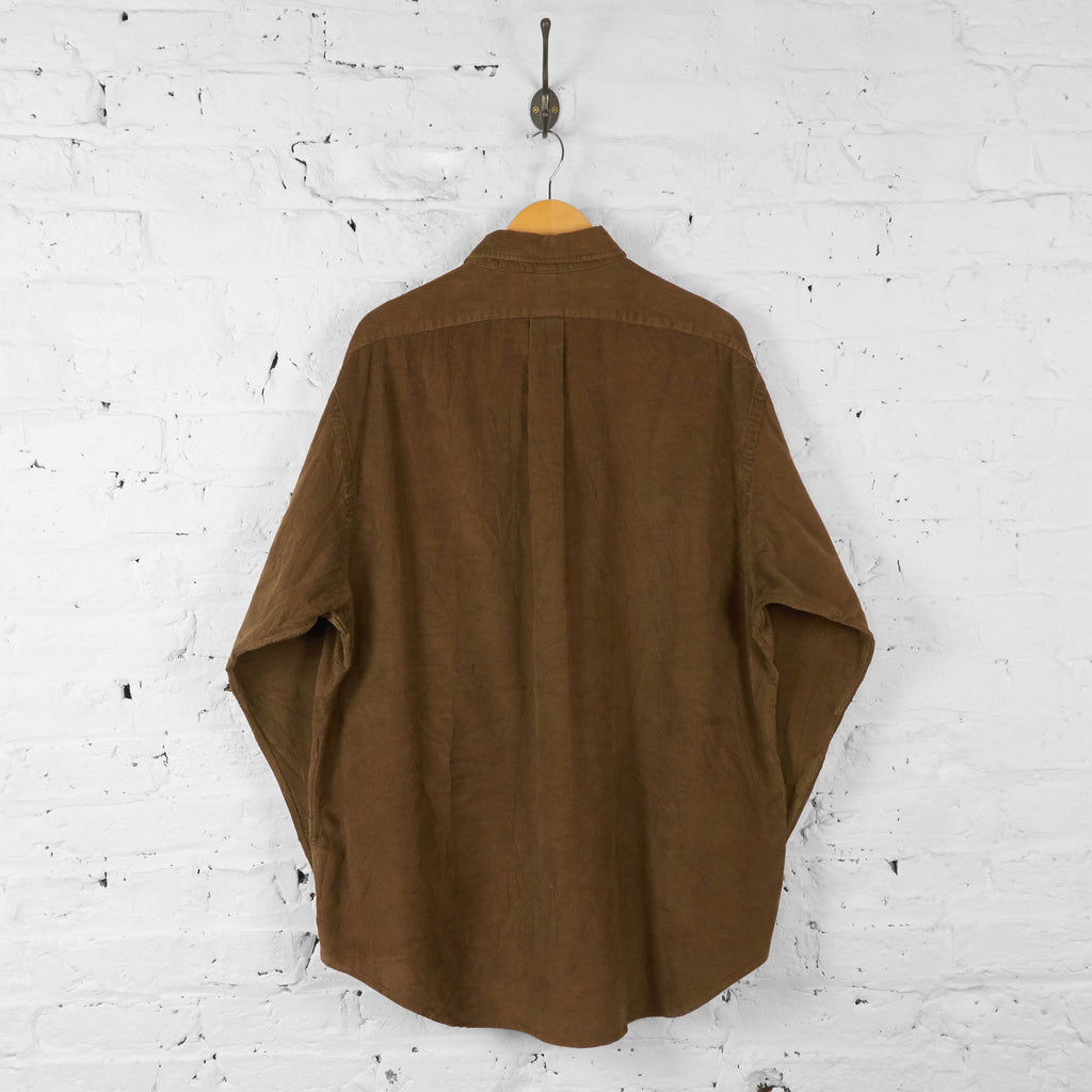 Ralph Lauren Corduroy Shirt - Brown - XL - Headlock