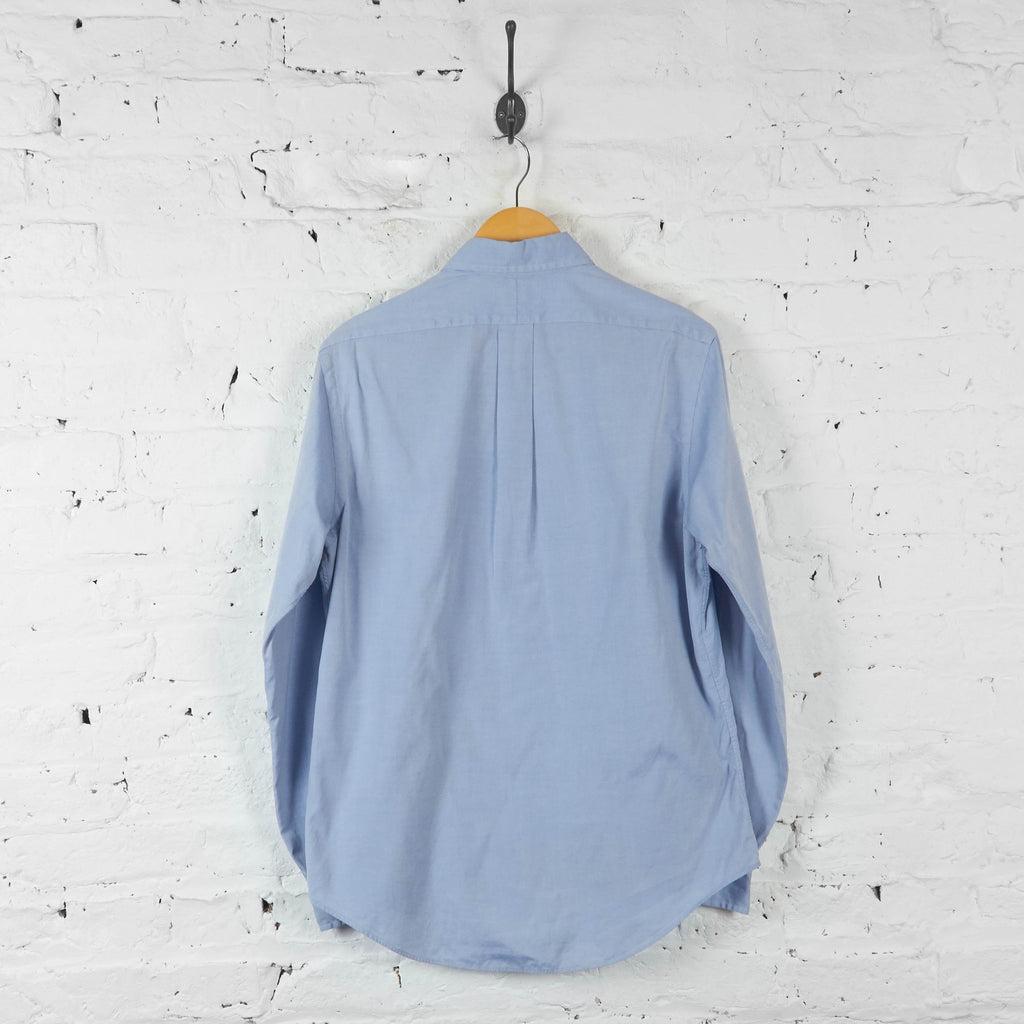 Ralph Lauren Oxford Style Shirt - Blue - M - Headlock