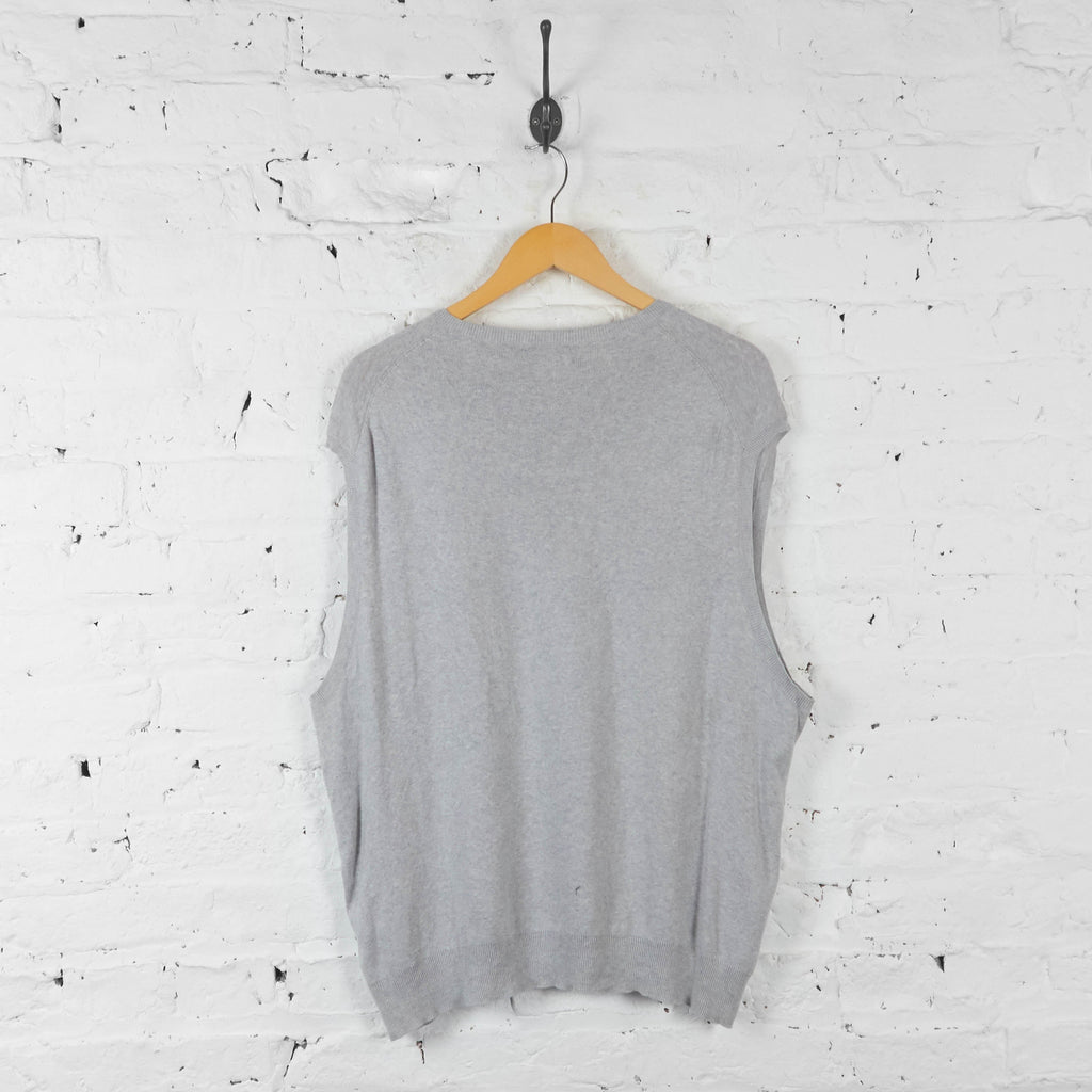 Ralph Lauren Tank Top Jumper - Grey - XXL - Headlock