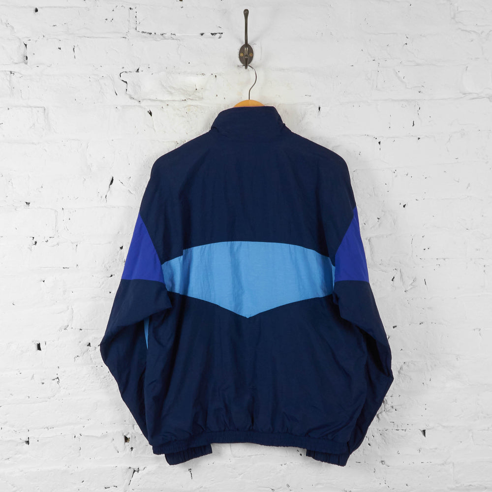 Sergio Tacchini Shell Tracksuit Top Jacket - Blue - L - Headlock