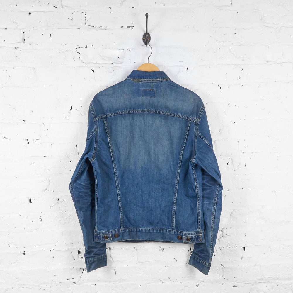Slim Fit Levis Denim Jacket - Blue - XL - Headlock