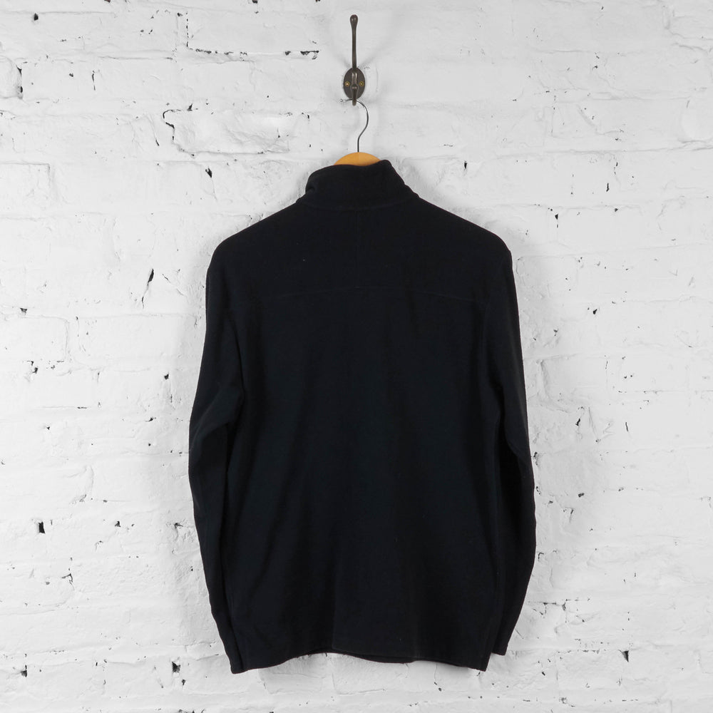The North Face 1/4 Zip Fleece Top - Black - L - Headlock