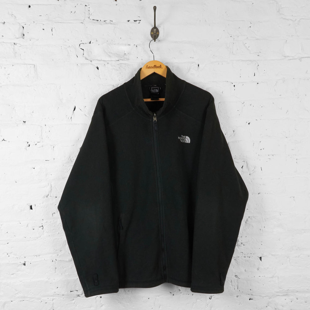 The North Face Full Zip Fleece - Black - XL - Headlock