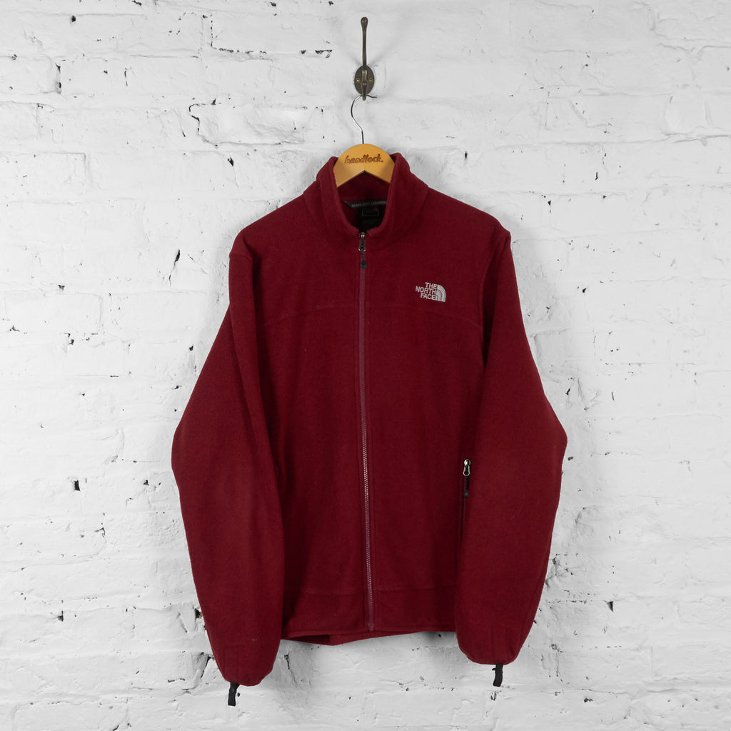The North Face Full Zip Fleece - Red - L - Headlock