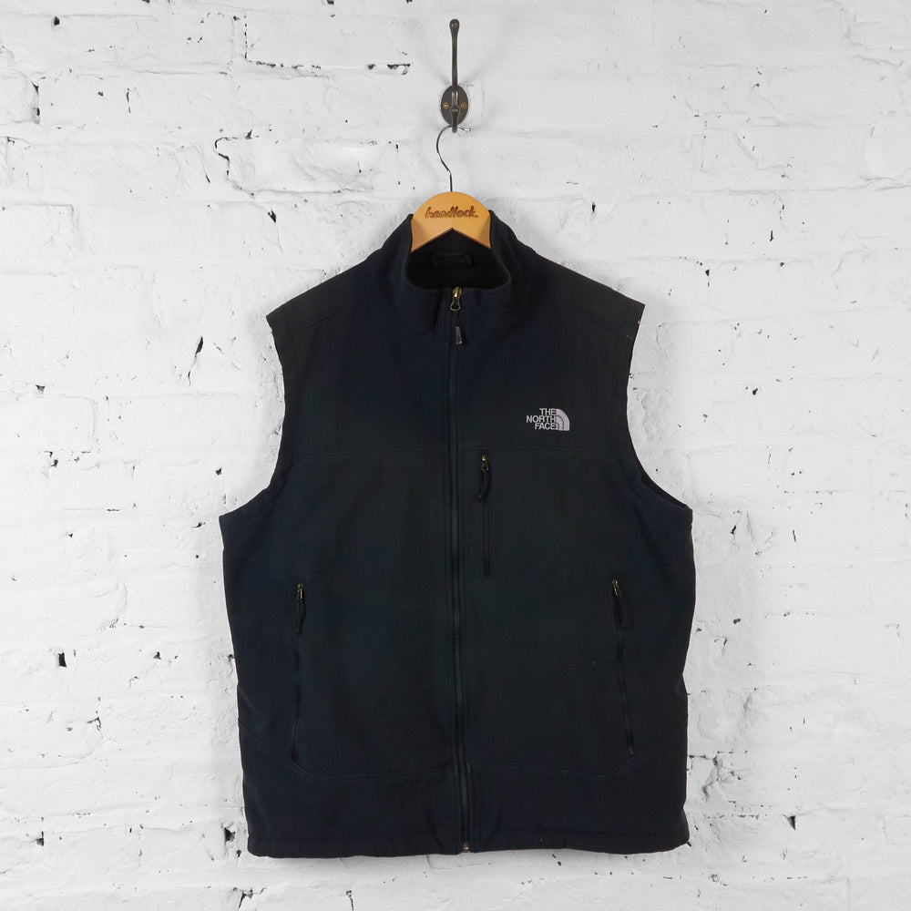 The North Face Shell Sleeveless Bodywarmer Jacket - Black - XL - Headlock