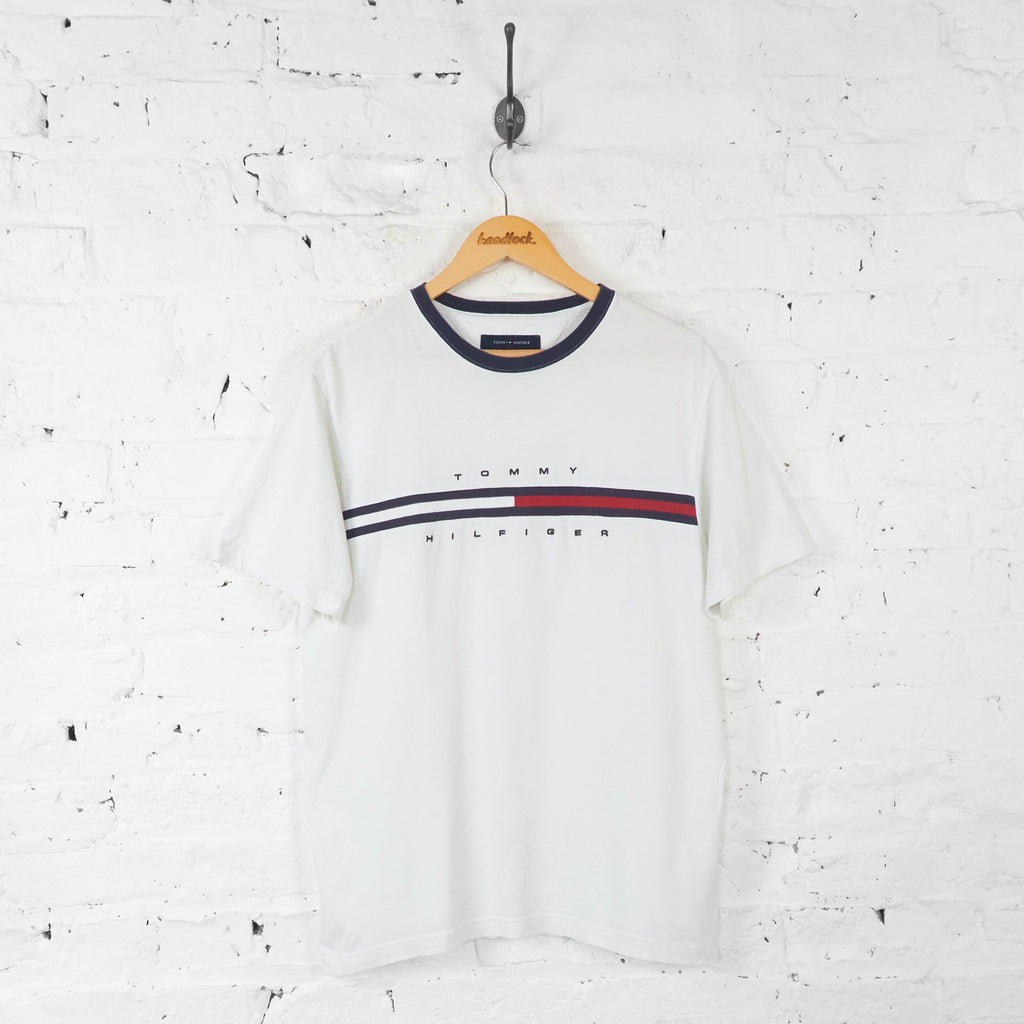 Tommy Hilfiger 90s T Shirt - White - M - Headlock
