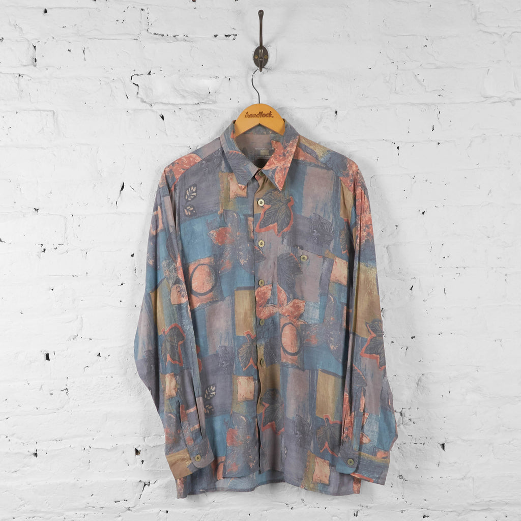 Vintage Abstract Pattern Shirt - Multi - XL - Headlock