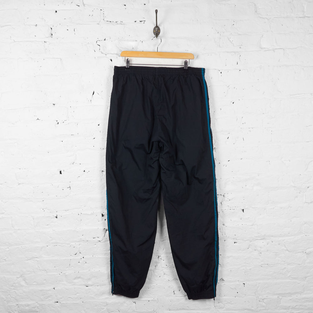 Vintage Adidas Shell Tracksuit Bottoms - Black - L - Headlock
