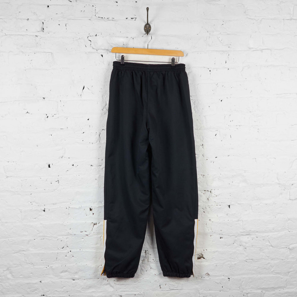Vintage Adidas Shell Tracksuit Bottoms - Black - S - Headlock