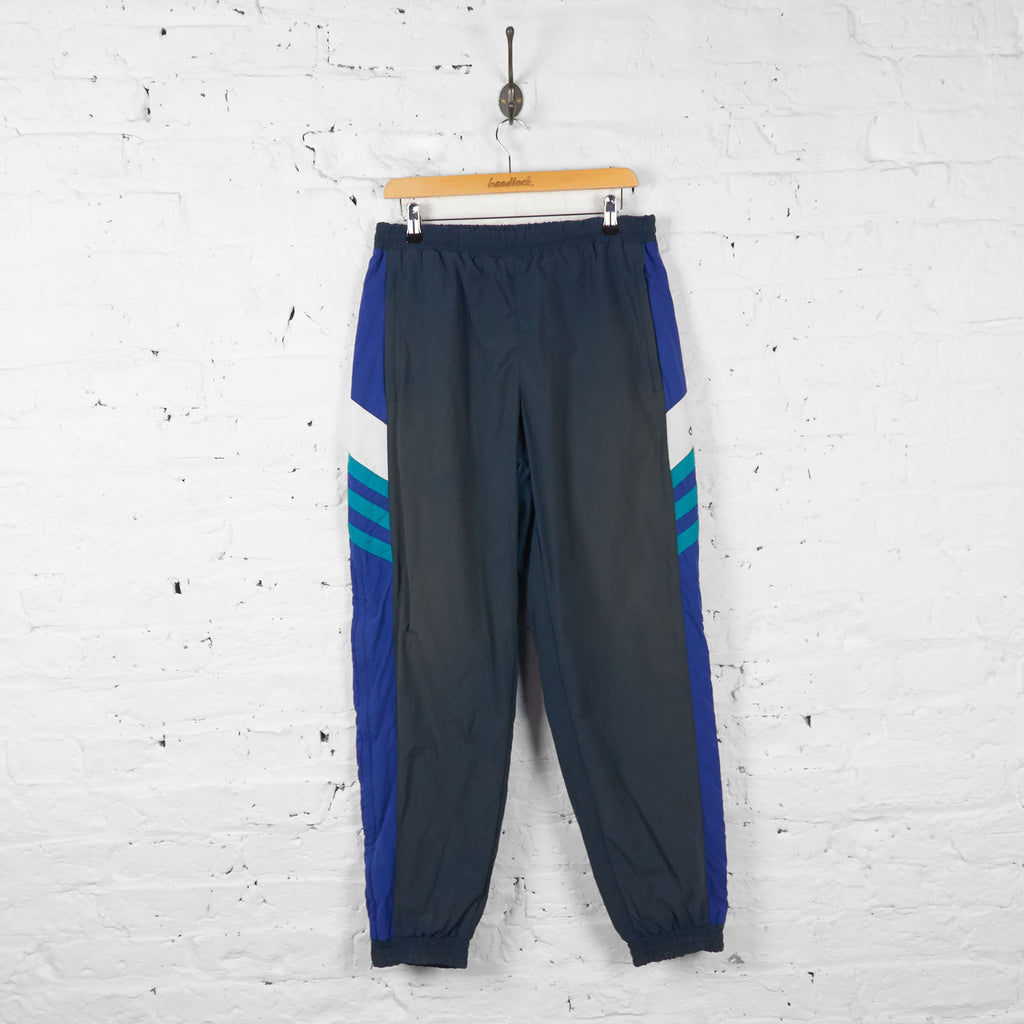 Vintage Adidas Shell Tracksuit Bottoms - Grey - M - Headlock