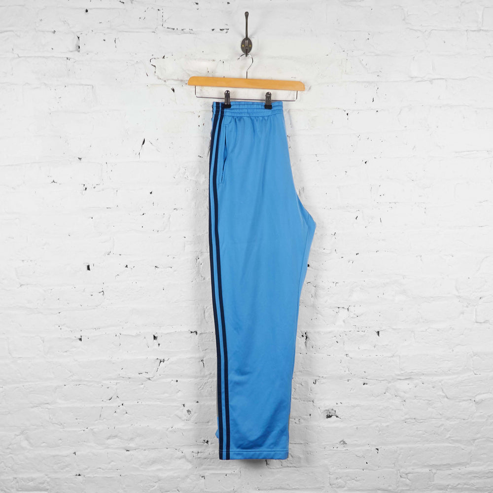 Vintage Adidas Tracksuit Bottoms - Blue - L - Headlock