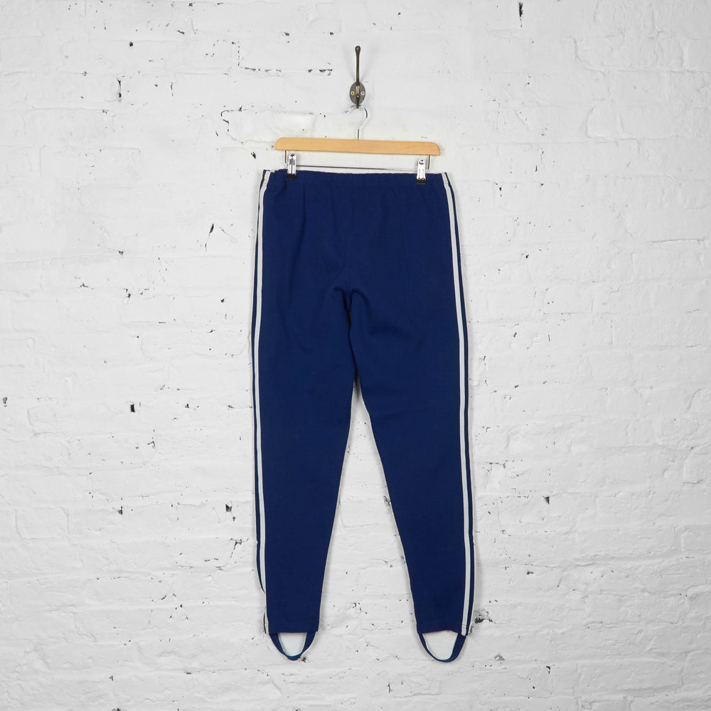 Vintage Adidas Tracksuit Bottoms - Blue - M - Headlock