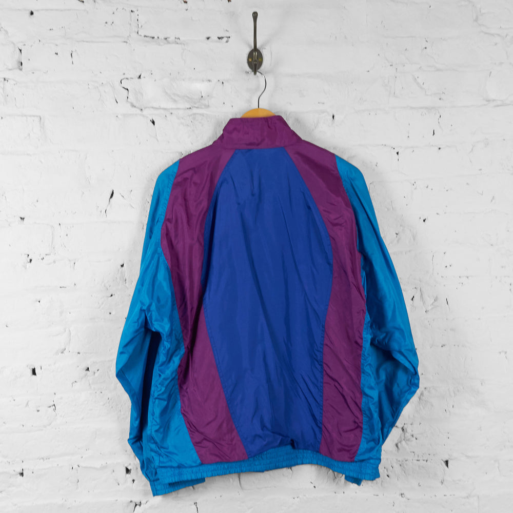 Vintage Adidas Tracksuit Tops - Blue/Purple - L - Headlock