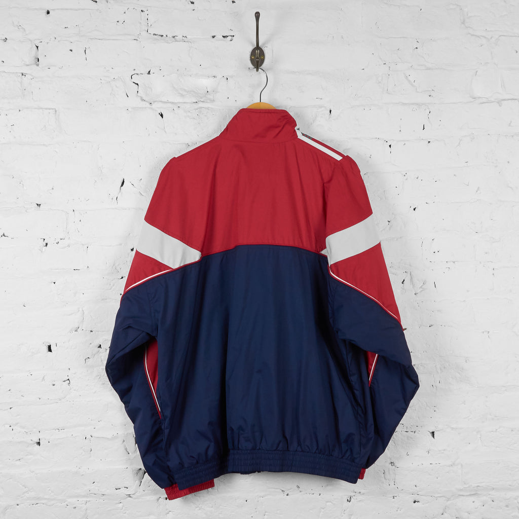 Vintage Adidas Windbreaker Jacket - Red/Navy - XL - Headlock