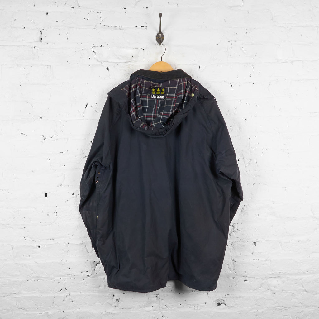 Vintage Barbour Beaufort Jacket - Black - XXL - Headlock