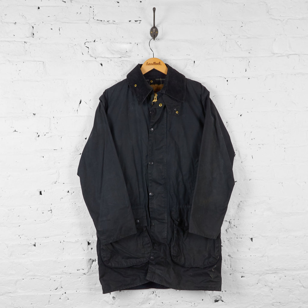 Vintage Barbour Border With Lining - Black - XL - Headlock