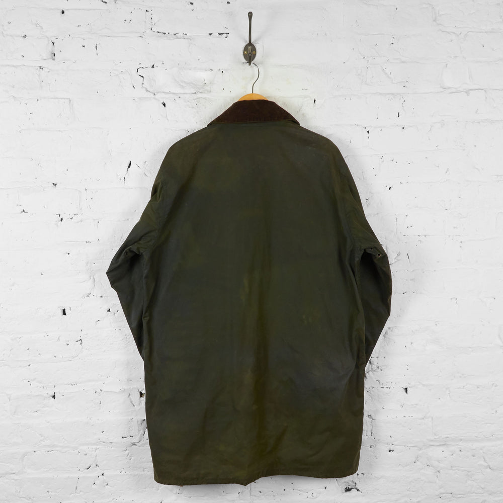 Vintage Barbour Wax Jacket - Green - XL - Headlock