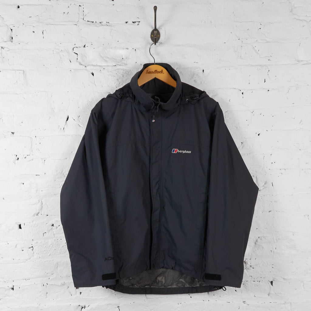 Vintage Berghaus Hooded Jacket - Grey - S - Headlock