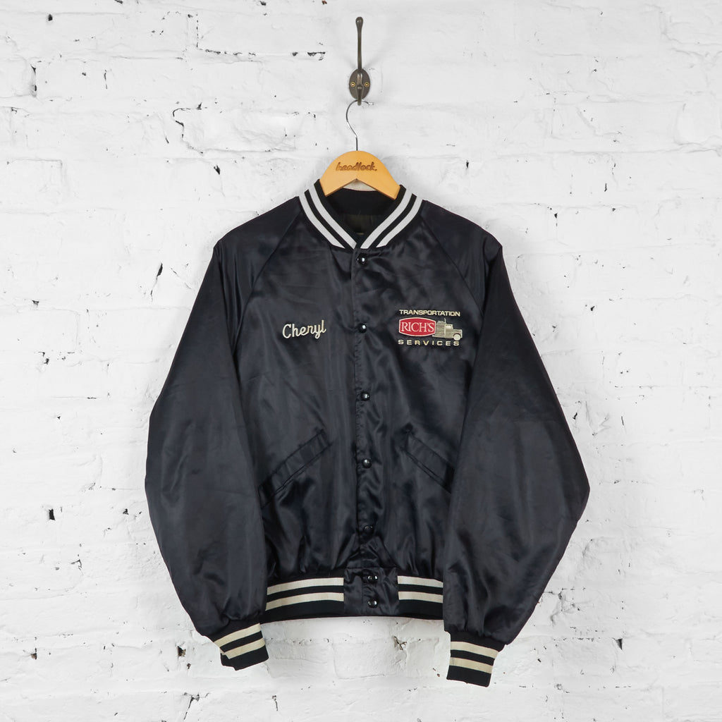 Vintage Bomber Jacket - Black - M - Headlock