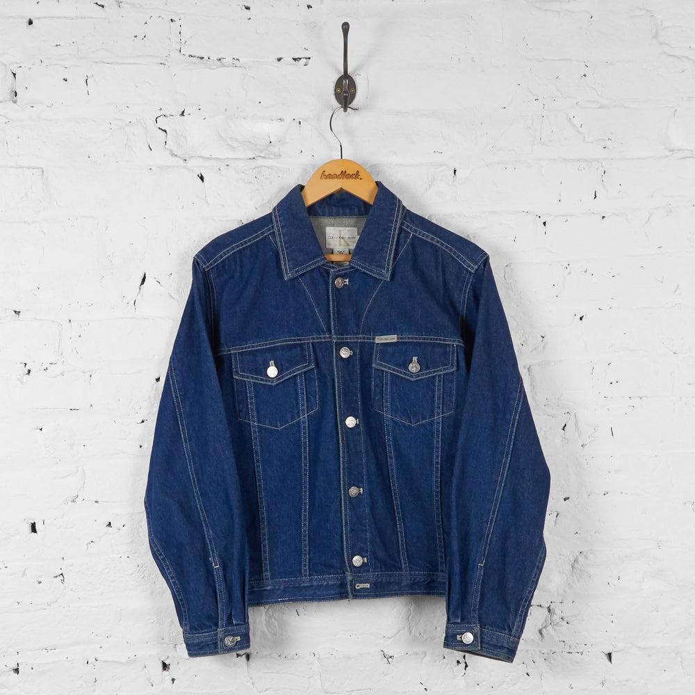 Vintage Calvin Klein Denim Jacket - Blue - L - Headlock