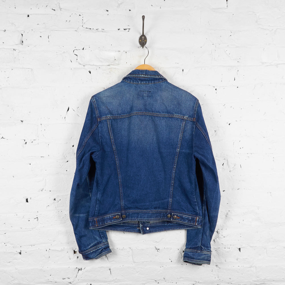 Vintage Calvin Klein Jeans Denim Jacket - Blue - L - Headlock