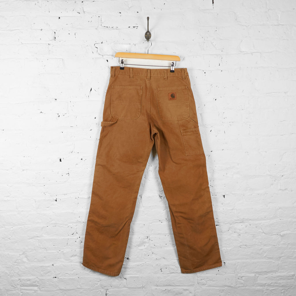 Vintage Carhartt Cargo Trousers - Brown - L - Headlock