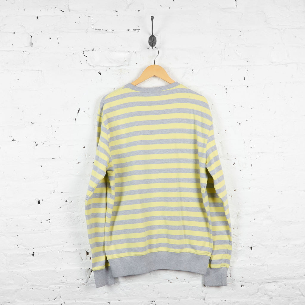 Vintage Carhartt Striped Shirt - Yellow/Grey - XL - Headlock