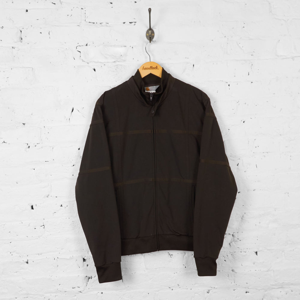 Vintage Carhartt Tracksuit Top - Brown - L - Headlock