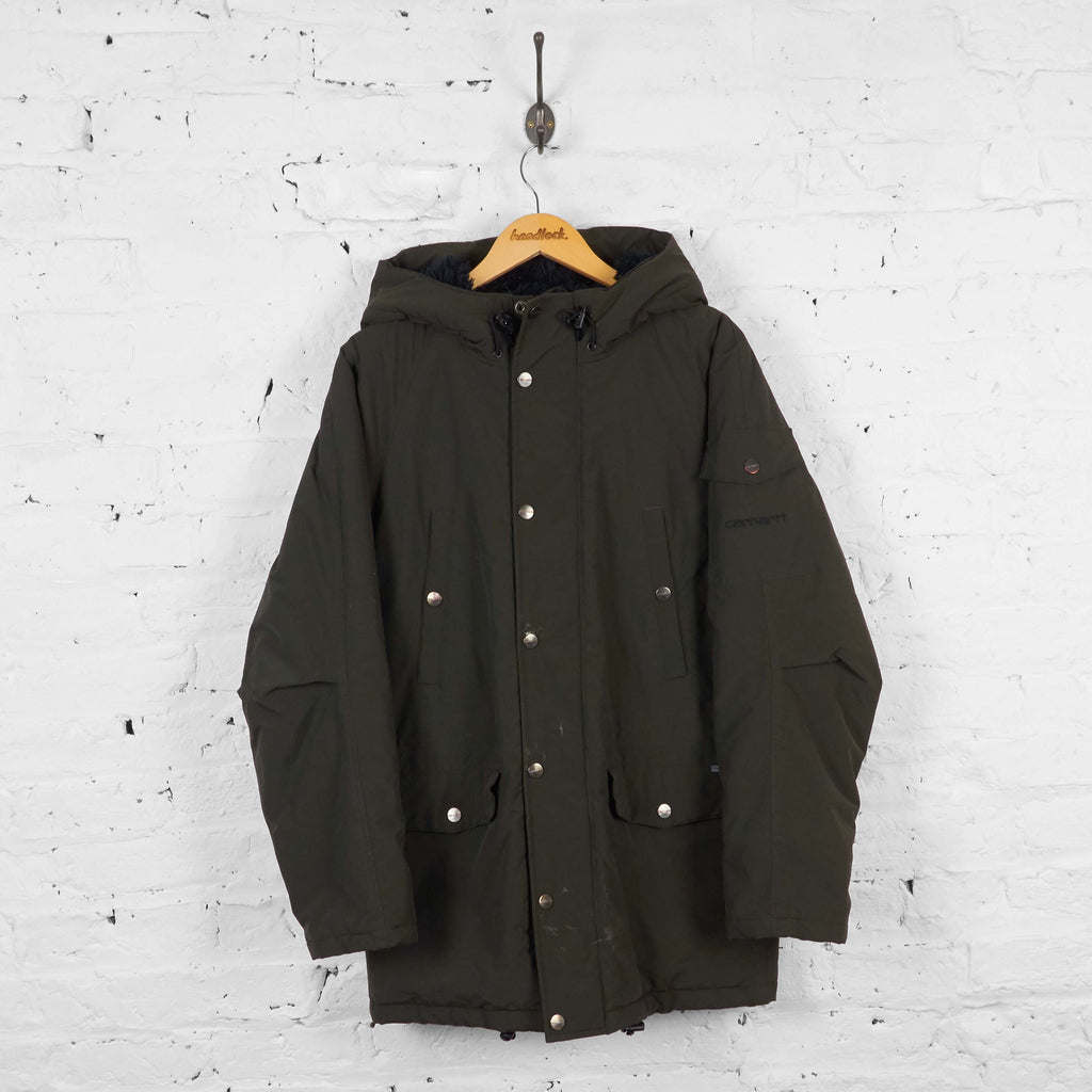 Vintage Carhartt Women's Coat - Grey - S - Headlock