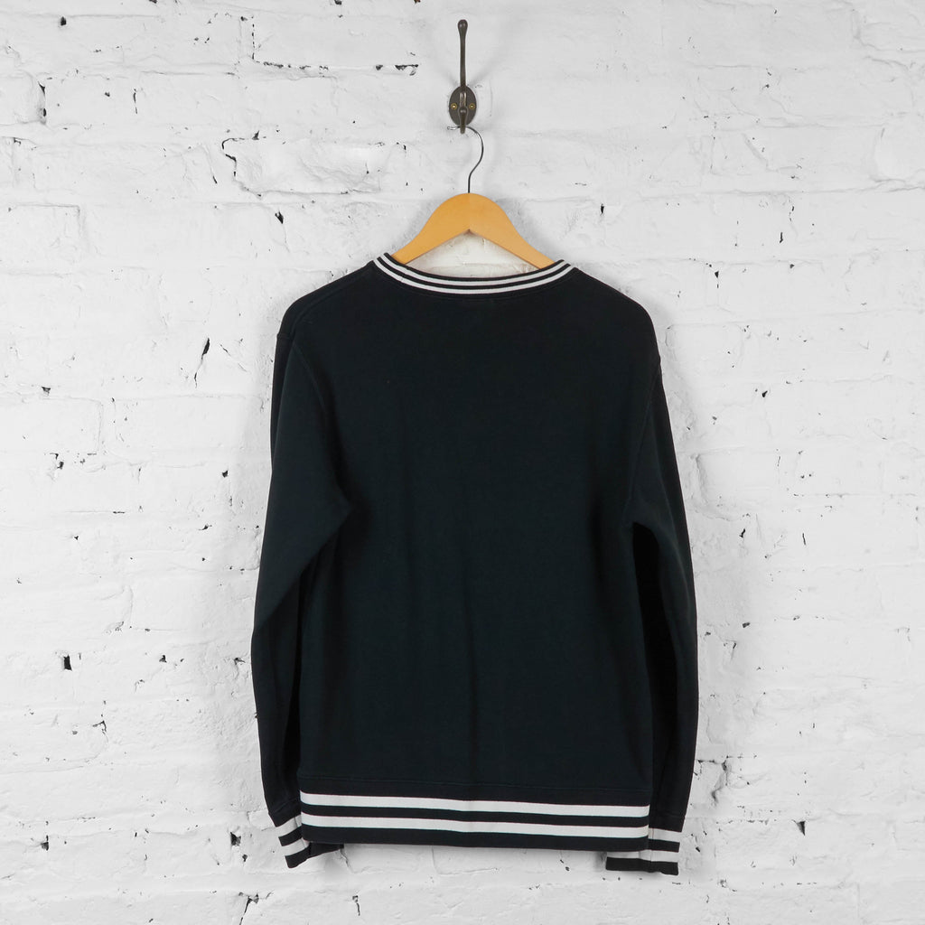 Vintage Champion Sweatshirt - Black - L - Headlock