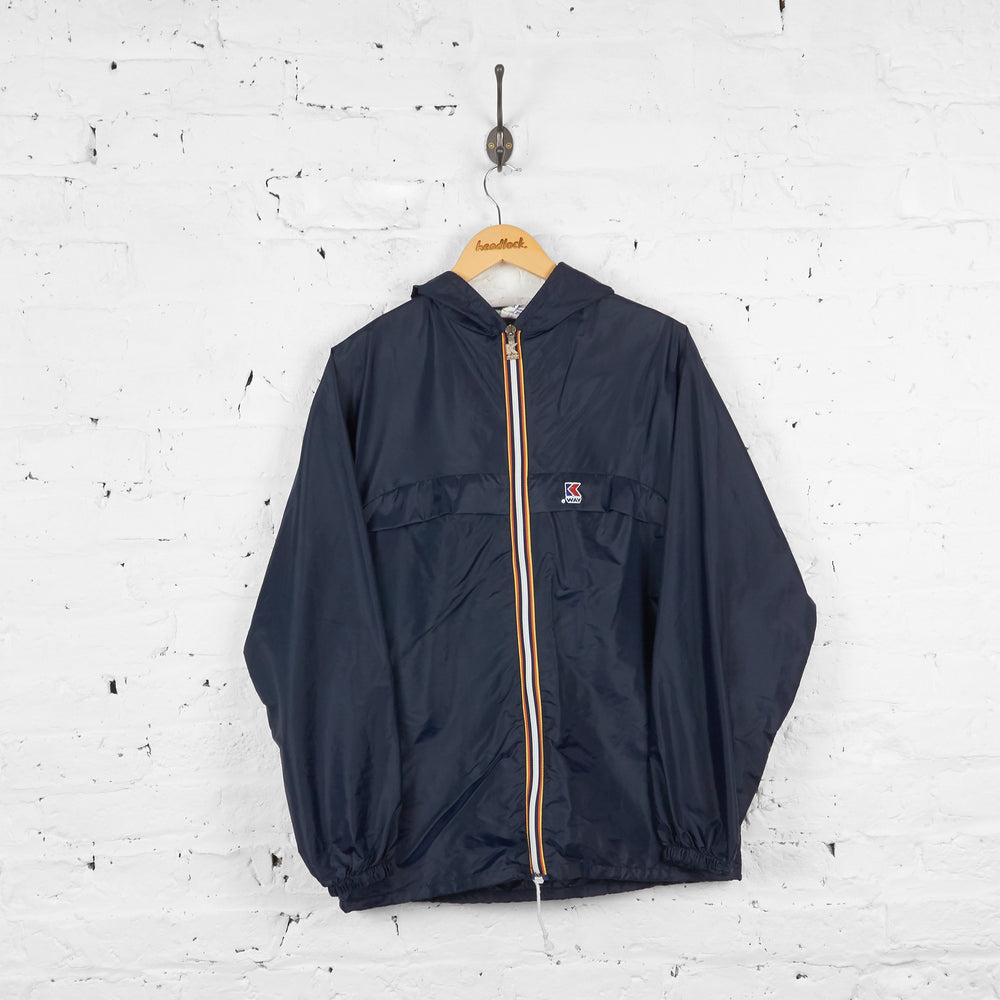 Vintage K-way Cagoule Co- Ord - Navy - S - Headlock