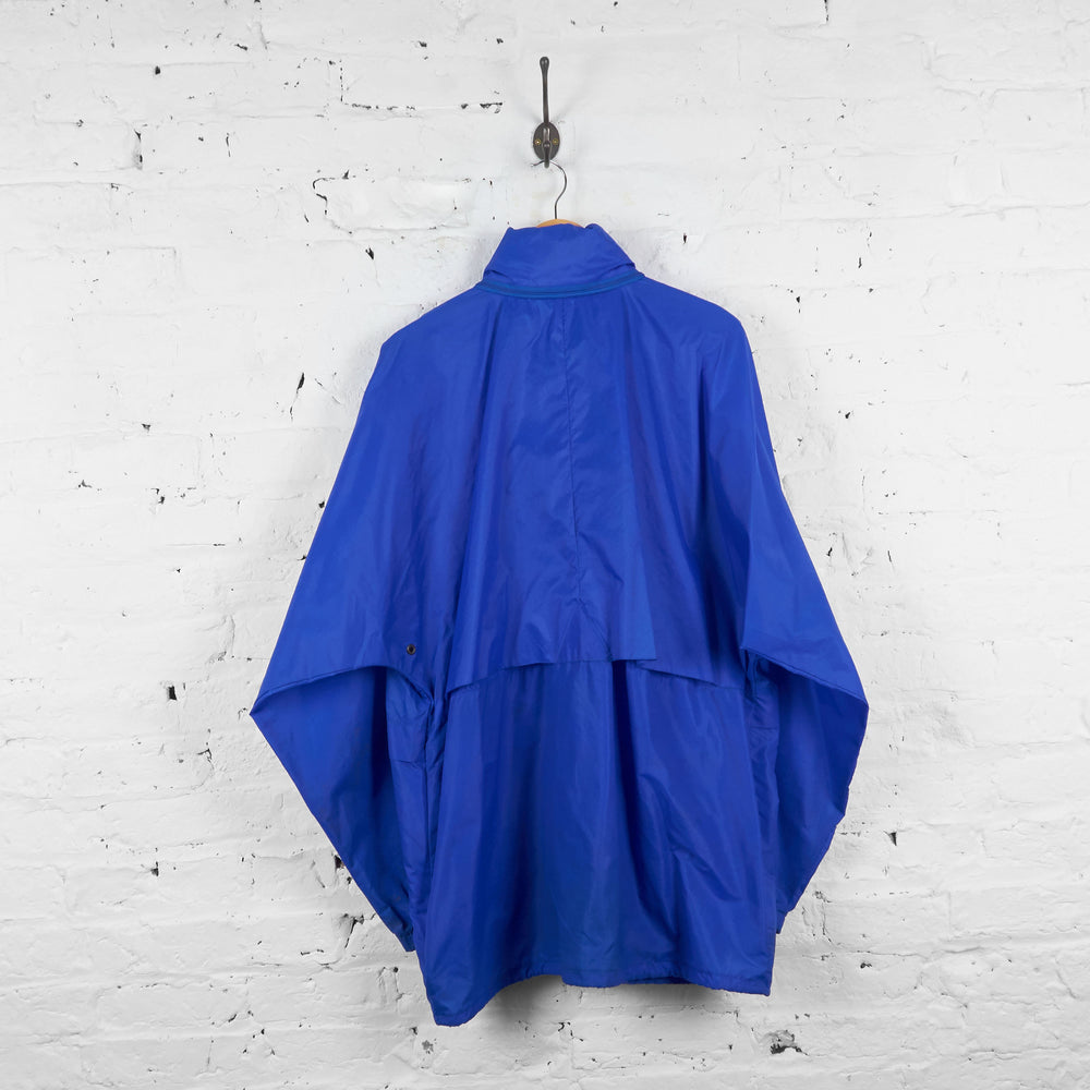 Vintage K-Way Cagoule Jacket - Blue - XXL - Headlock