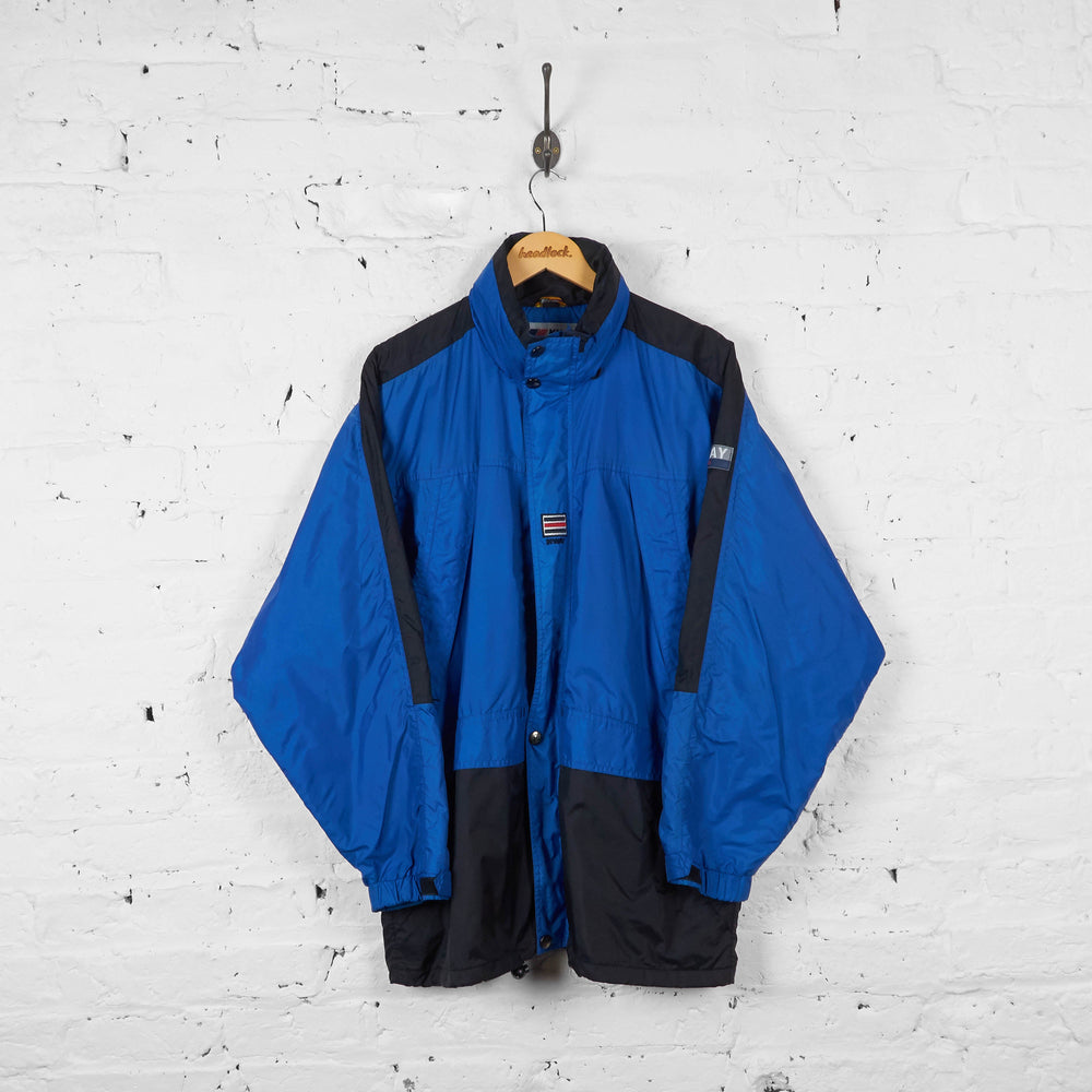 Vintage K-Way Jacket - Blue/Black - M - Headlock